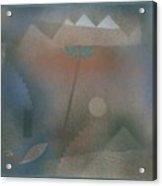 Bird Wandering Off Acrylic Print