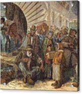 Black Exodus, 1880 Acrylic Print