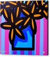 Black Eyed Flowers  Acrylic Print