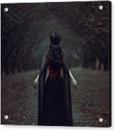 Black Queen Acrylic Print