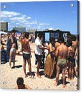 Black Sea Resort 1969 Acrylic Print