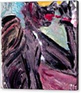 Black Smoker Acrylic Print
