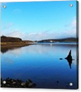 Blessington Lakes Acrylic Print