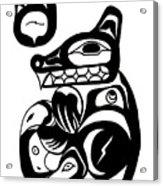 Bloodwolf Acrylic Print
