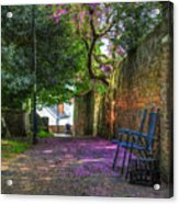 Blossom Path Acrylic Print