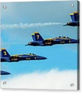 Blue Angels Formation  Acrylic Print