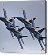Blue Angels In Review Acrylic Print