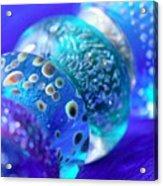 Blue Beads 2 Acrylic Print