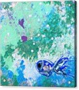 1 Blue Fish Acrylic Print
