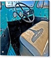 Blue Ford Pickup Truck Acrylic Print