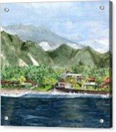 Blue Lagoon Bali Indonesia Acrylic Print