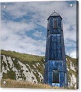 Blue Lighthouse Acrylic Print