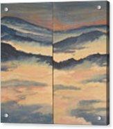 Blue Ridge IIi Acrylic Print