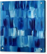 Blue Thing Acrylic Print by KR Moehr