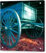 Blue Wagon Acrylic Print