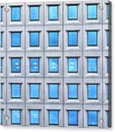 Blue Windows Acrylic Print