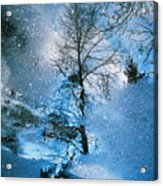 Blue Winter - From The Cycle - Straight From The Plate Acrylic Print