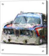 Bmw Csl Batmobile Acrylic Print