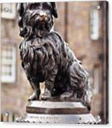 Bobby Statue, Edinburgh, Scotland Acrylic Print