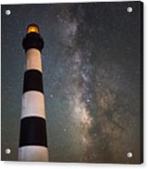 Bodie Island Lighthouse Milky Way Acrylic Print