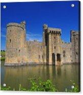 Bodium Castle Sussex Acrylic Print