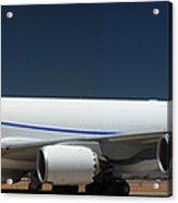 Boeing 747-8 N50217 At Phoenix-mesa Gateway Airport Acrylic Print