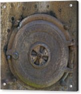 Boiler Tank Acrylic Print