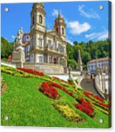 Bom Jesus Do Monte Braga Acrylic Print