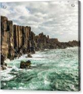 Bombo Headland Quarry At Kiama, Australia Acrylic Print