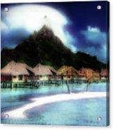 Bora Bora Acrylic Print