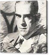 Boris Karloff, Vintage Actor Acrylic Print