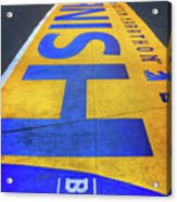 Boston Marathon Finish Line   Acrylic Print