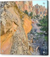 Boulder-notom Buttes Acrylic Print