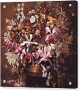 Bouquet Of Orchids Acrylic Print