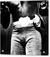Boxer Jack Johnson, Ca. 1910s Acrylic Print