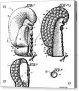 Boxing Glove Patent 1944 Acrylic Print