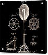 Boxing Punch Bag Patent 1885 Acrylic Print