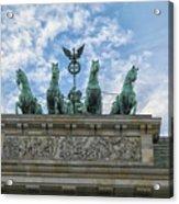Brandenburger Gate, Berlin Acrylic Print