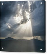 Breaking The Clouds Acrylic Print