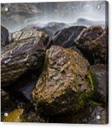Bridal Veil Falls - Highlands, Nc Acrylic Print