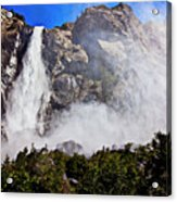 Bridalveil Fall Yosemite Valley Acrylic Print