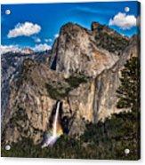 Bridalveil Falls Rainbow #2 Acrylic Print