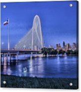 Bridge Over Troubled Waters Acrylic Print