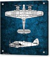 Bristol Beaufighter Acrylic Print