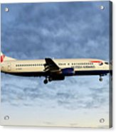 British Airways Boeing 737-436 Acrylic Print