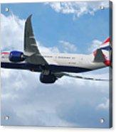 British Airways Boeing 787 Dreamliner Acrylic Print