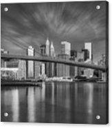 Brooklyn Bridge From Dumbo Acrylic Print