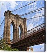 Brooklyn Bridge Ny Acrylic Print