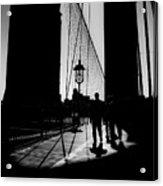 Brooklyn Shadows Acrylic Print