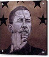 Brotha President Acrylic Print